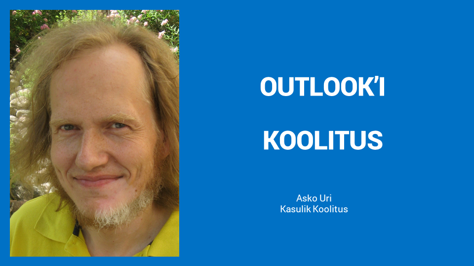 Outlooki koolitus